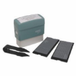 Fast& friendly service! You create a Self-Inking Message Stamp with this kit. : From 1 to 4 lines in minutes  