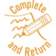 """35230 - """"Complete and Return"""""""