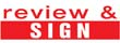 """35220 - """"Review & Sign"""""""